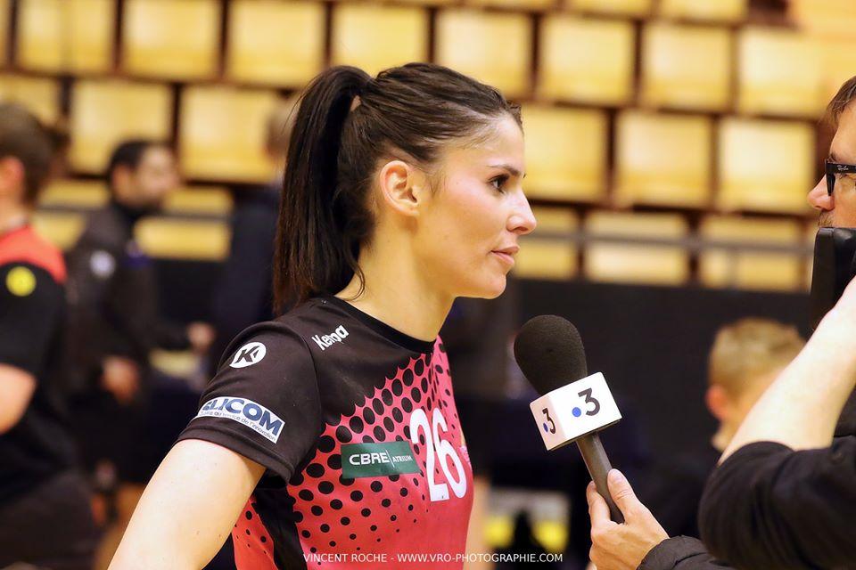 «Je suis également très heureuse de pouvoir participer au développement du club» Maéva De Almeida